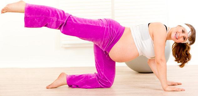 Exercícios físicos para futuras mamães
