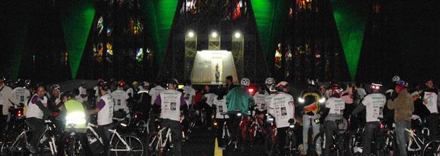 Dia da Bicicleta - Maringá 2013 - Disposição
