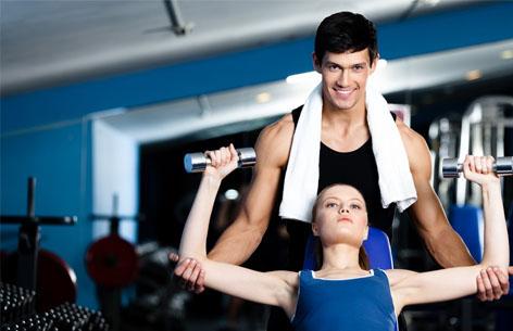 Tenha o seu Personal Trainer - Disposição