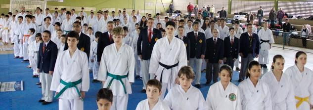 Campeonato Paranaense de Karate FEKIP - Disposição