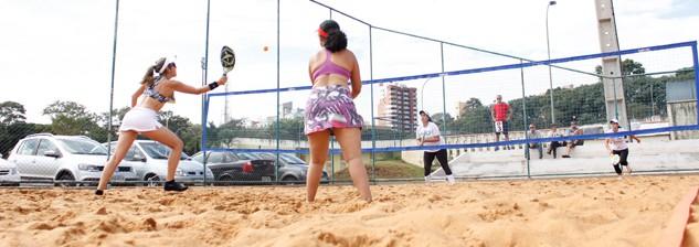 Circuito Paranaense de Beach Tennis Maringá - Disposição