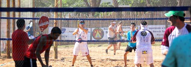 Circuito Osmoze de Beach Tennis - Disposição