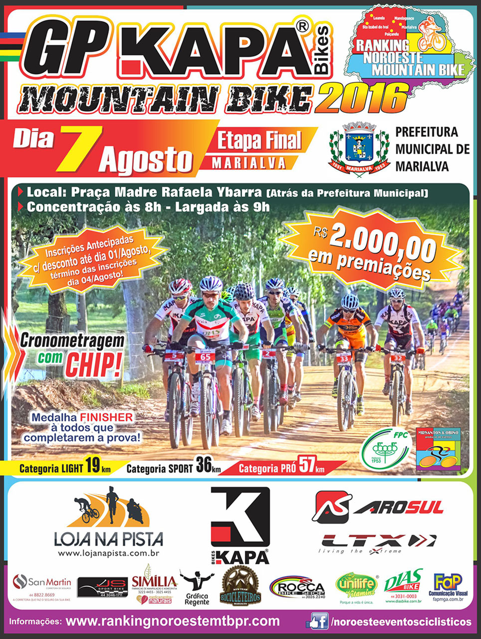 Ranking-Noroeste-GP-Kapa-Bikes-Disposicao-Cartaz